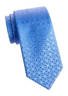 Charvet Silk Abstract Tie