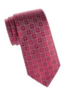 Charvet Silk Diamond Tie