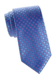 Charvet Silk Neat-Square Tie