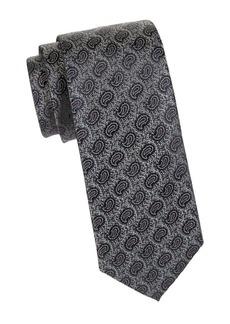 Charvet Silk Paisley Tie