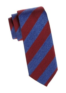 Charvet Silk Repp Tie