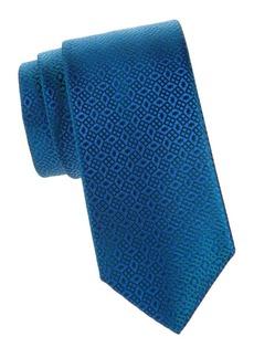 Charvet Silk Skewed Square Tie