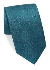 Charvet Silk Space Dot Neat Tie