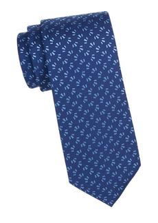 Charvet Silk Tri-Bar Tie