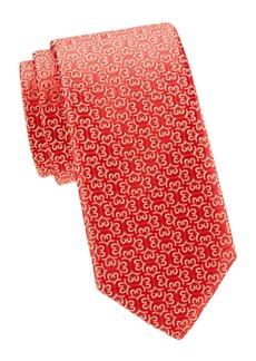 Charvet Neat Swirl Silk Tie