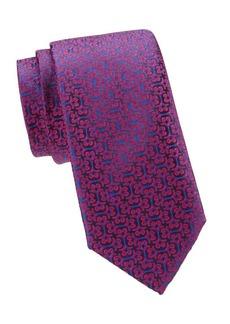 Charvet Swirl Silk Tie