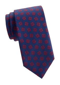 Charvet Woven Silk Square Tie