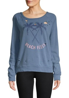 Chaser Beach Feels Fleece Long-Sleeve Sweater