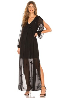 Chaser Beaded Star Maxi Dress