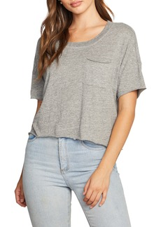 Chaser Boxy Cropped Jersey T-Shirt