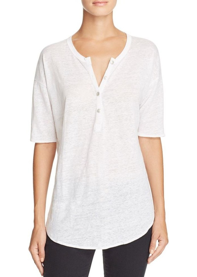 CHASER Burnout Henley Tee