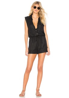 Chaser Button Down Romper