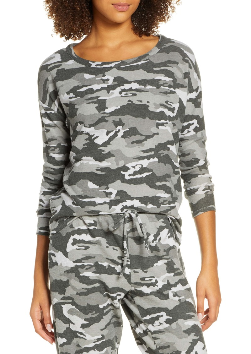 Chaser Camo Cozy Pullover