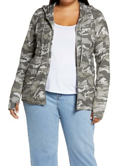 Chaser Camo Zip-Up Hoodie (Plus Size)