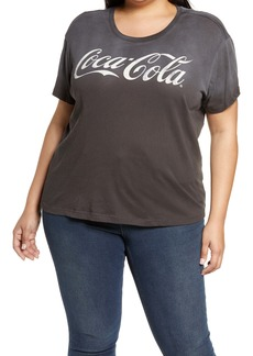 Chaser Coca Cola® Ombré Graphic Tee (Plus Size)
