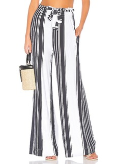 Chaser Cool Jersey Paperbag Waist Pant