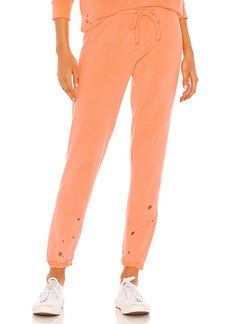 Chaser Cotton Fleece Relaxed Lounge Pant