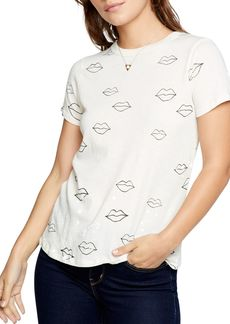 CHASER Cotton Lips Print Tee
