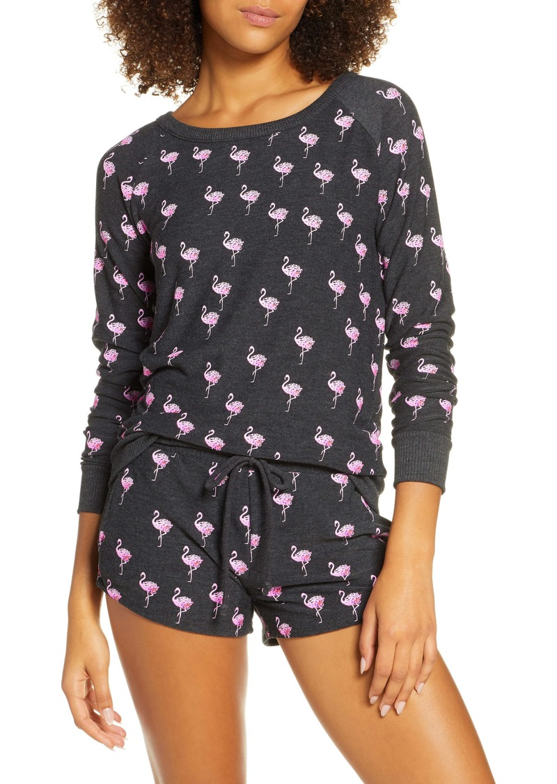 Chaser Flamingo Love Cozy Pullover