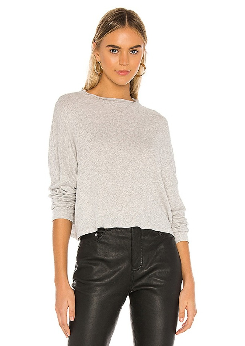 Chaser Funnel Neck Drop Shoulder Dolman Tee