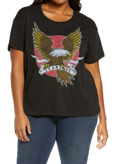 Chaser Hawk Graphic Tee (Plus Size)