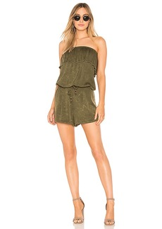 Chaser Heirloom Ruffle Romper