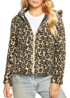 CHASER Hooded Faux Fur Jacket