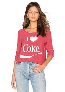 Chaser I Heart Coke Pullover