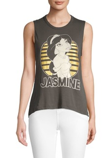 Chaser Jasmine Graphic Cotton Tank Top