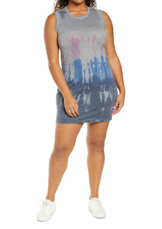 Chaser Jersey Rolled Armhole Minidress (Plus Size)