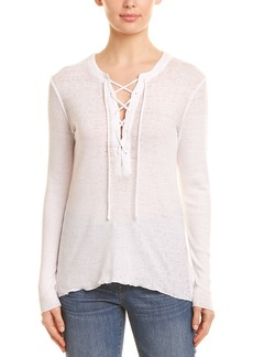 Chaser Lace-Up Rib Top