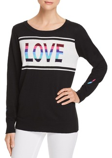 CHASER Love Intarsia Sweater