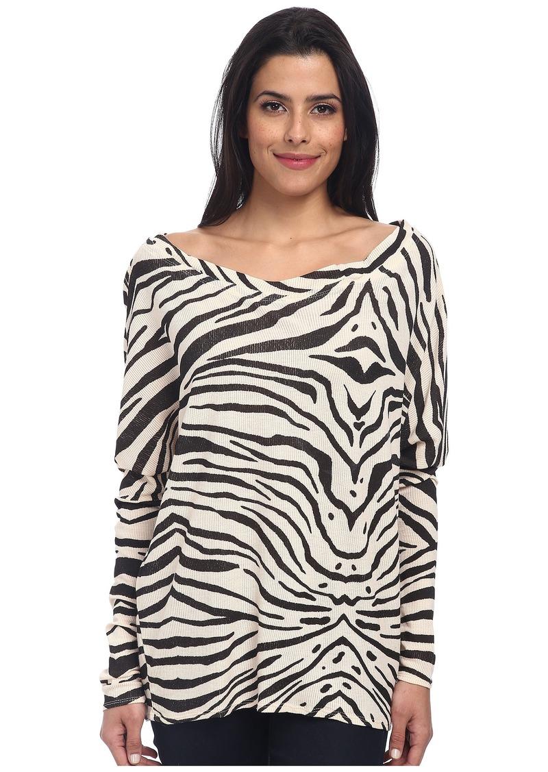 Chaser L/S Thermal Zebra Dolman