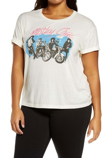 Chaser Mötley Crüe Graphic Tee (Plus Size)