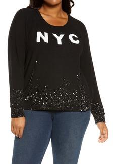 Chaser NYC Graphic Sweatshirt (Plus Size)