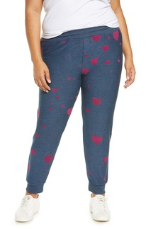 Chaser Plum Heart Cozy Joggers (Plus Size)