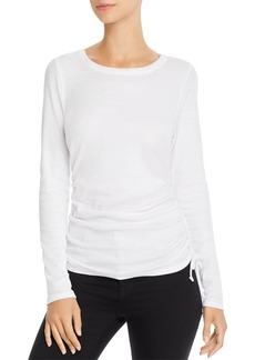 CHASER Ruched Drawstring Tee