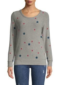 Chaser Scattered Star Pullover