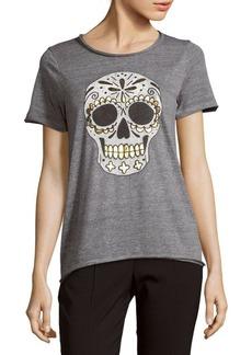 Chaser Skull-Graphic Short-Sleeve Tee