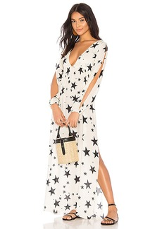 Chaser Starry Maxi Cover Up