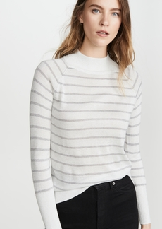 Chaser Striped Metallic Sweater