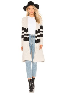Chaser Striped Open Front Duster
