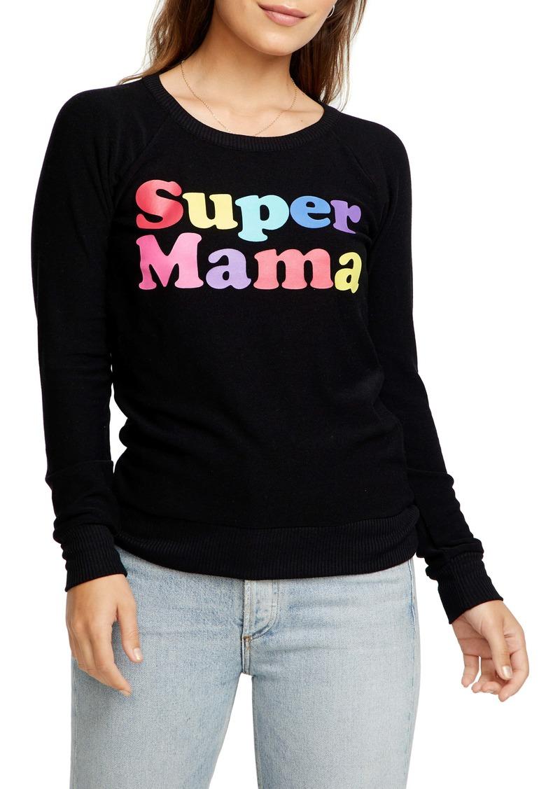 Chaser Super Mama Cozy Pullover