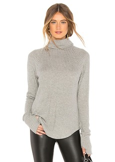 Chaser Thermal Raglan Turtleneck