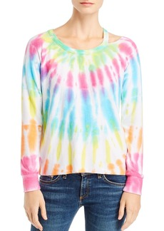 CHASER Tie-Dye Cutout Tee - 100% Exclusive