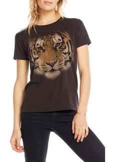 Chaser Tiger Eyes Graphic Sleep Tee