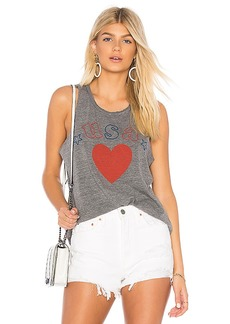 Chaser USA Shirttail Tank