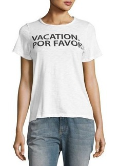 Chaser Vacation Por Favor Graphic Tee