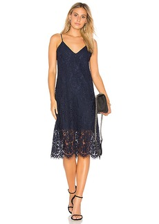 Chaser Vintage Lace Dress in Blue. - size L (also in M,S,XS)