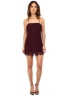 Chaser Vintage Lace Party Mini Dress